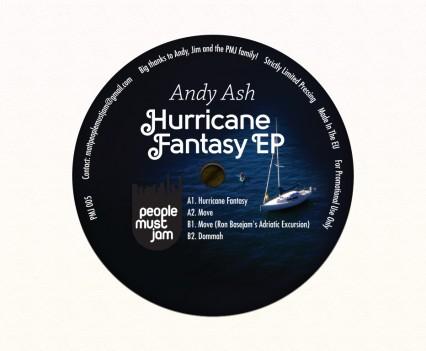 Andy Ash Hurricane Fantasy EP B side