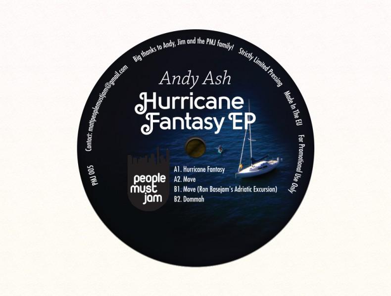 Andy Ash – Hurricane Fantasy EP