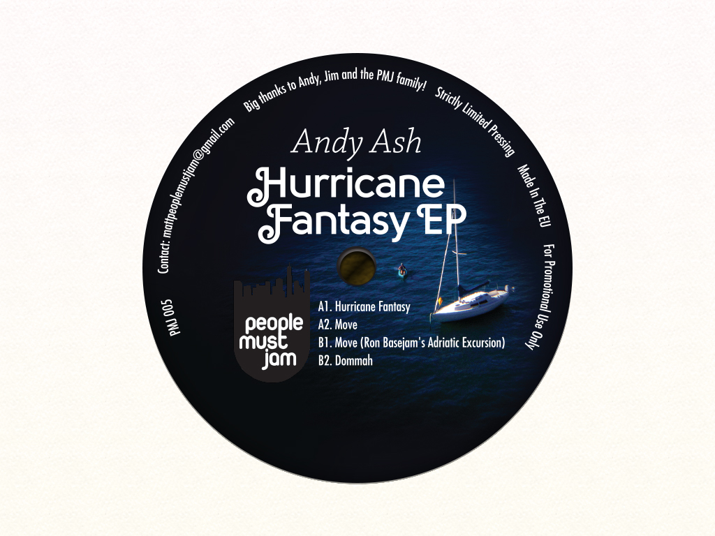 Andy Ash Hurricane Fantasy EP B side