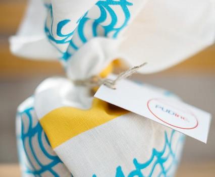 PUDInc tea towel design