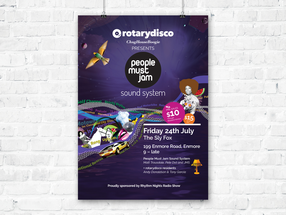 Rotary Disco Promotional Poster