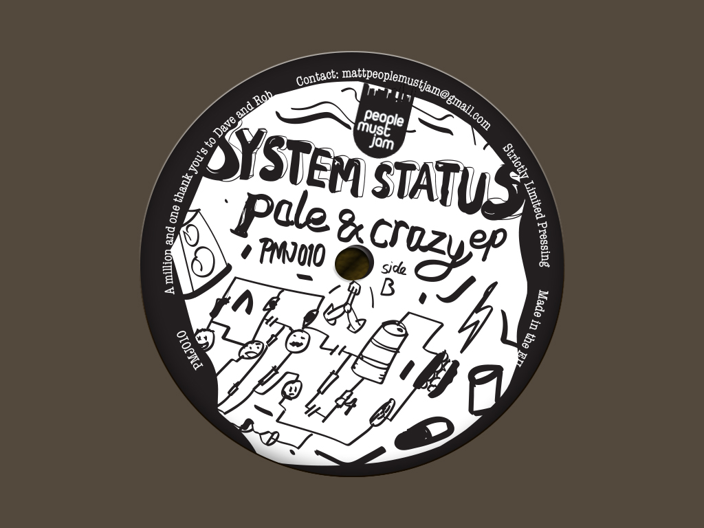 System Status Pale and Crazy E.P.